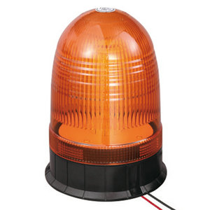 LED Roof Beacon For Fuel Tanker 24W 9-30V SMD Amber With Three-Bolt IP66 ECE R10 #808