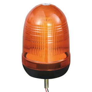 SMD Mini LED Beacon For Tip Lorry 24W 12V/24V Yellow With Single-Bolt IP66 CE E9 #808