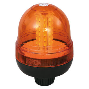 SMD LED Road Beacon For Electric Coaches 18W 12V/24V Amber With DIN A Mount IP66 ECE R10 #S814