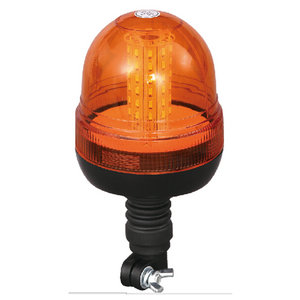Beacon Lighting LED Lights For Motor Lorry SMD 18W 24 Volt Amber With DIN A Mount IP66 ECE R10 #S814