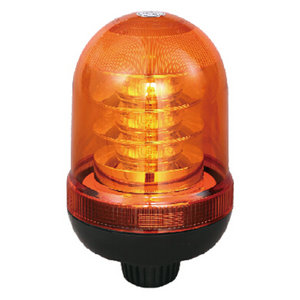 High-Power LED Rotating Beacon Lights For Interurban Bus 54W 12V/24V Amber With Pole Mount IP66 ECE R10/R65 #P807
