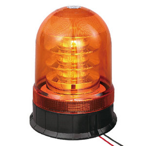 LED Amber Beacon For Sightseeing Bus 54W 9-30V High-Power With Three-Bolt IP66 ECE R10/R65 #P807