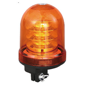 Red LED Beacon For Tipping Truck 54W 9-30V High-Power With DIN A Mount IP66 CE E9 #P807