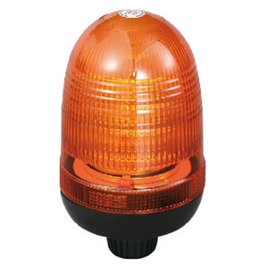 High-Power LED Warning Beacon For Special Operation Autombile 54W 12V/24V Amber With DIN A Mount IP66 ECE R10/R65 #P808