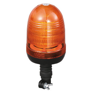 LED Amber Beacon Light For Police Car High-Power 54W 24 Volt With DIN A Mount IP66 ECE R10/R65 #P808