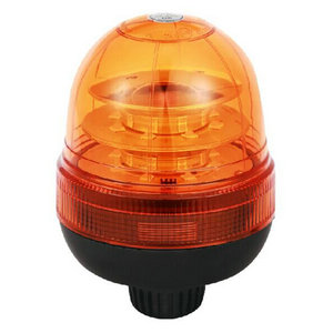 High-Power LED Beacon Lighting For Truck 48W 12V/24V Amber With DIN A Mount IP66 ECE R10/R65 #P814