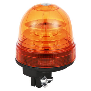 Beacon Lighting LED Lights For Tipping Semitrailer 48W 9-30V High-Power Yellow With Pole Mount IP66 CE E9 #P814